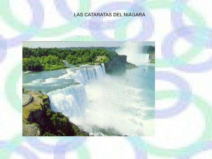 LAS CATARATAS DEL NIAGARA   LAS CATARATAS DEL NIÁGARA