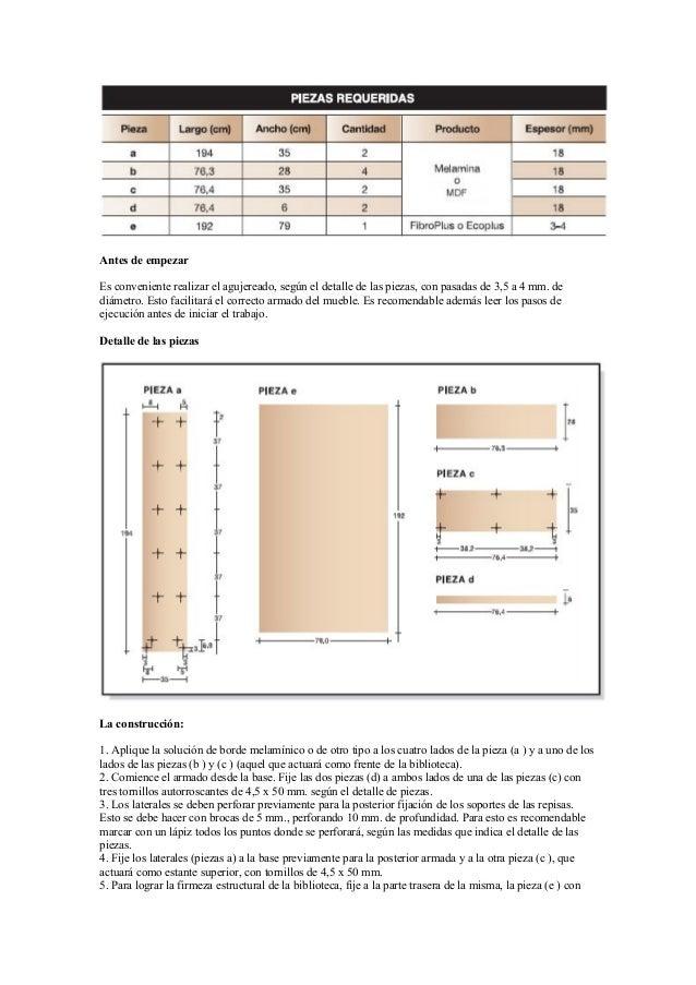Proyectos para fabricar muebles con melamina for Fabricacion de muebles de melamina pdf