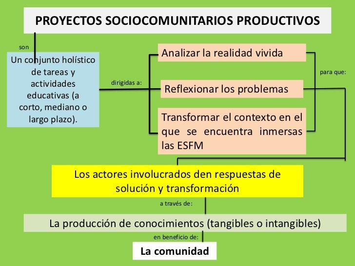 Proyectos sociocomunitarios productivos   1 Slide 2