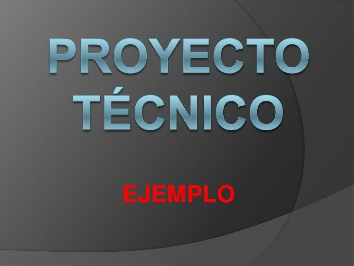 proyecto tecnico final
