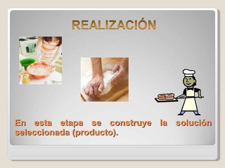En esta etapa se construye la solución seleccionada (producto).