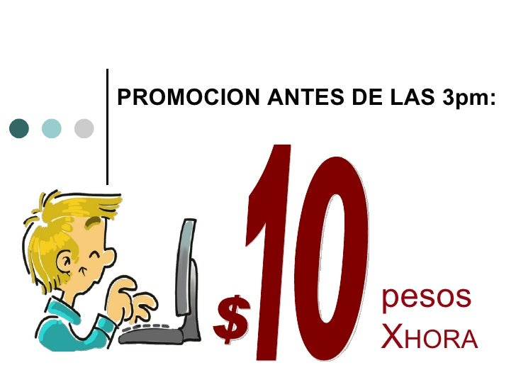 PROMOCION ANTES DE LAS 3pm:                  pesos                  XHORA