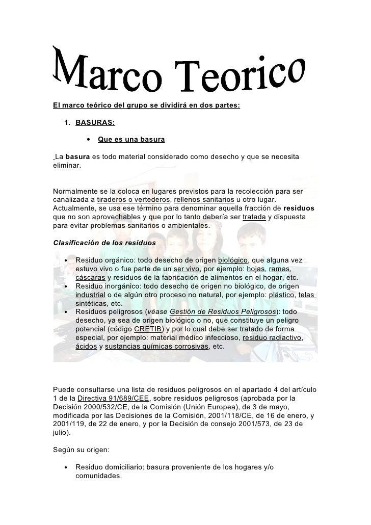 Proyecto textual marco teorico ( imprimir)