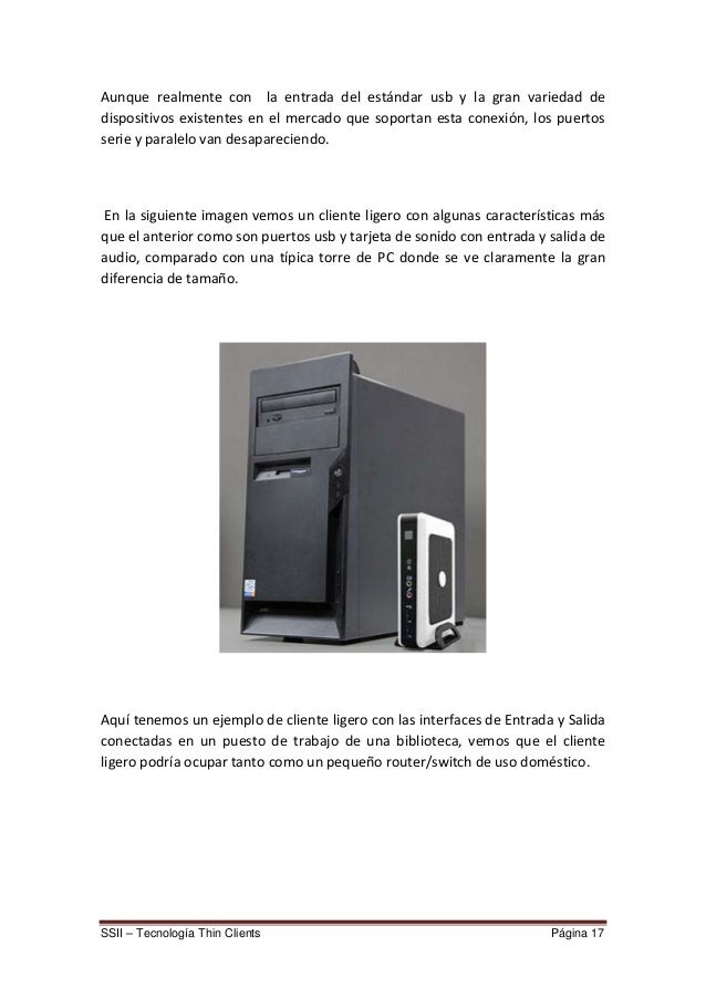 Proyecto thin client
