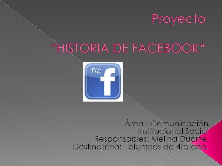 Este proyecto tiene el propósito deenseñarles a los alumnos que conozcanel origen de las redes sociales y elporque de su c...