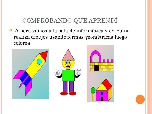 Proyecto explorando las figuras geometricas for Las formas geometricas