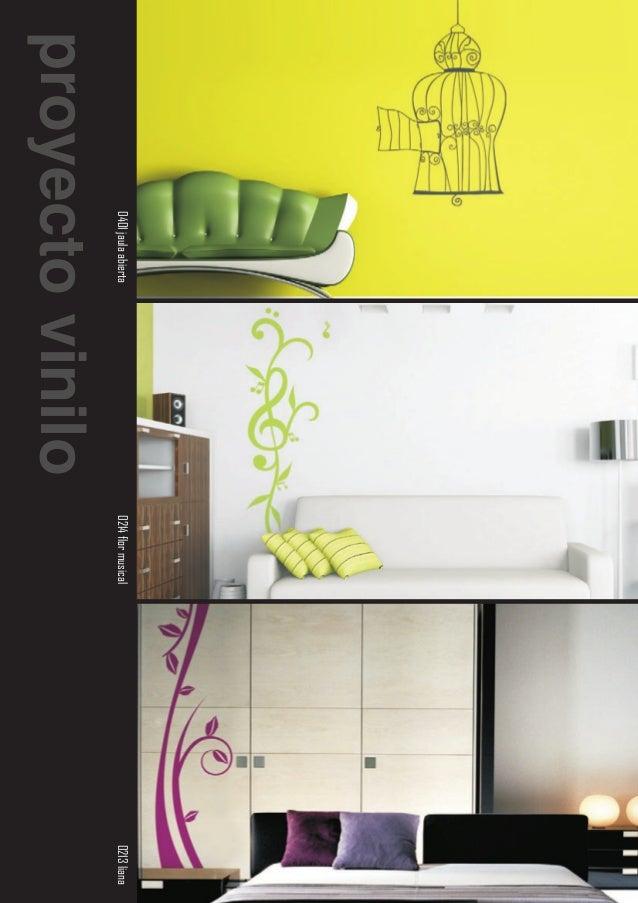 Proyecto vinilo catalogo general de vinilos decorativos for Vinilos ikea catalogo