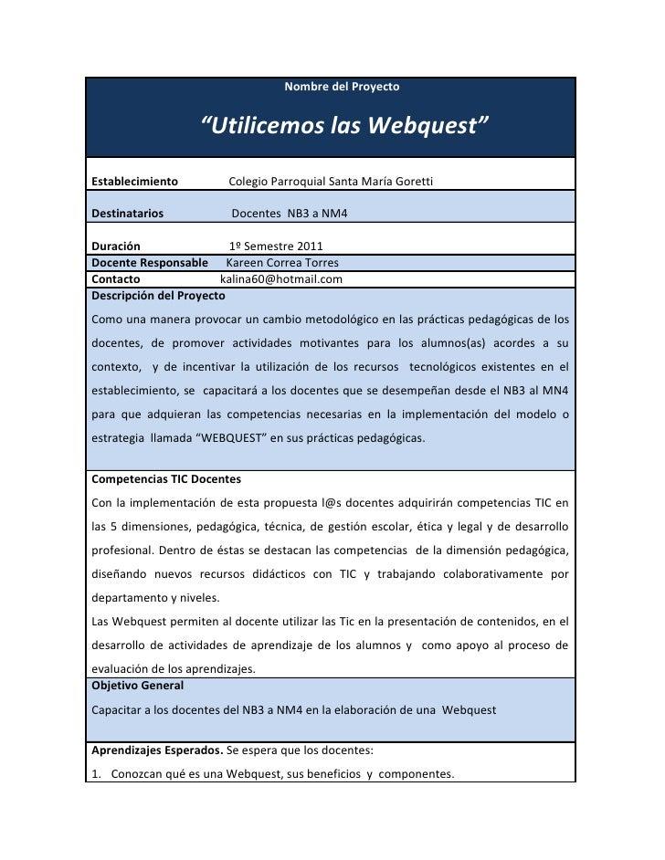 Proyecto webquest 1
