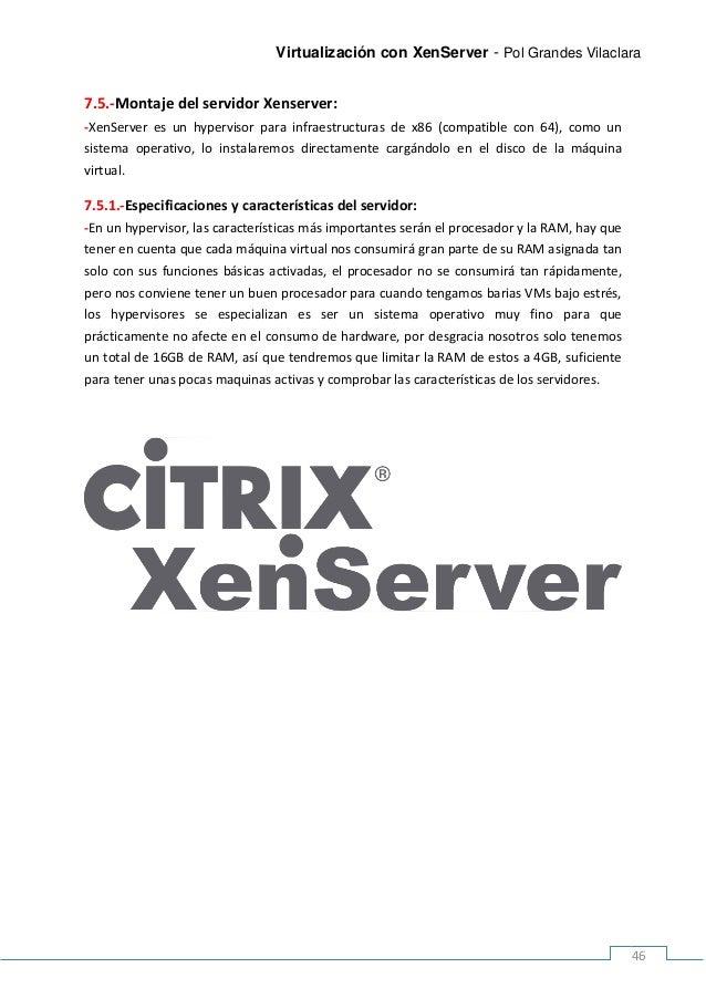 Proyecto XenServer