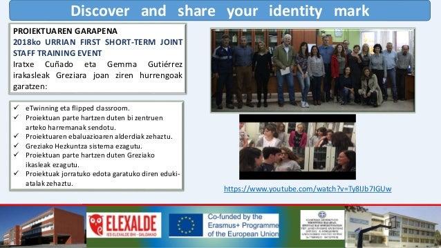 Discover and share your identity mark ORAIN ARTE PROIEKTUAREN EGINDAKO JARDUERAK https://www.youtube.com/watch?v=pV4NYBQ59...