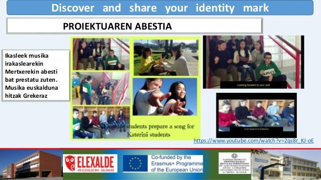 Discover and share your identity mark https://www.youtube.com/watch?v=6tyr7EhJZDo