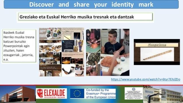 Discover and share your identity mark 2019 MAIATZEAN SHORT-TERM JOINT STAFF TRAINING EVENT Greziako irakasleak hona etorri...
