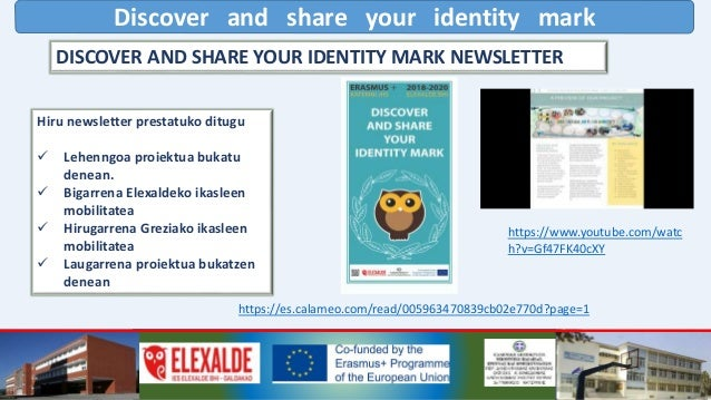 Discover and share your identity mark