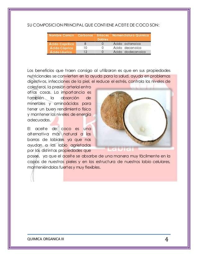 Proyecto qu mica org nica labiales de crayolas for Formula quimica del aceite de cocina