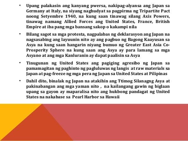 • Nabuo ang mga kilusang pangkalayaan na sinusuportahan  ng mga Hapon katulad ng Indian Independence Army.  • Nagkarong ng...