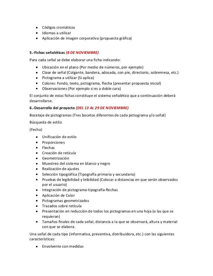 Códigos cromáticos          Idiomas a utilizar          Aplicación de imagen corporativa (propuesta gráfica)5.-Fichas seña...