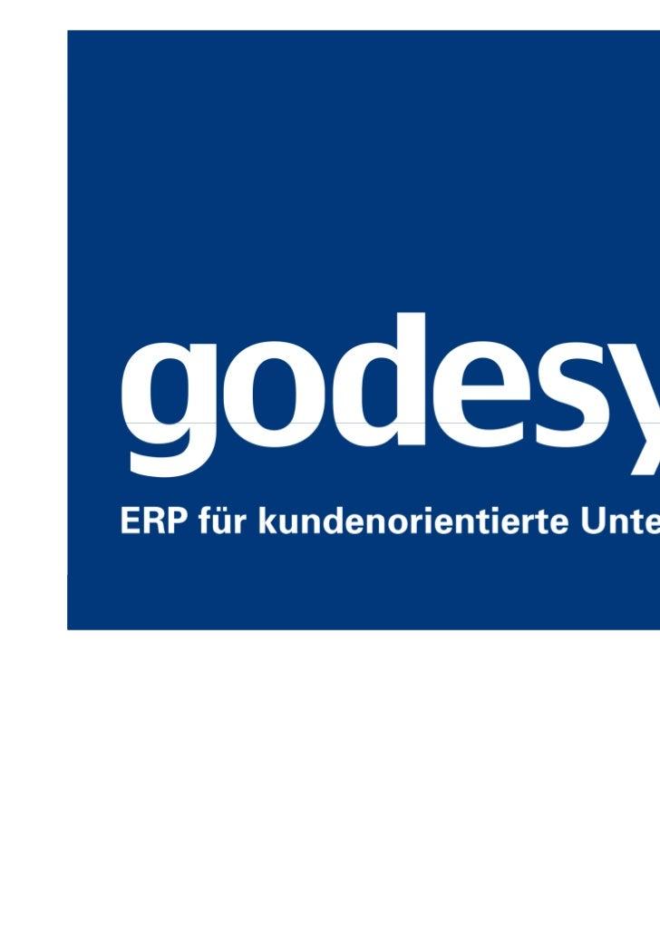 Workflow-Modellierung im godesys.ERP