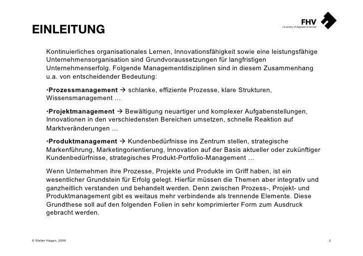 Prozessmanagement   Projektmanagement   Produktmanagement Slide 2