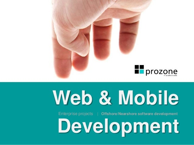 Web & Mobile Development Enterprise projects | Offshore/Nearshore software development