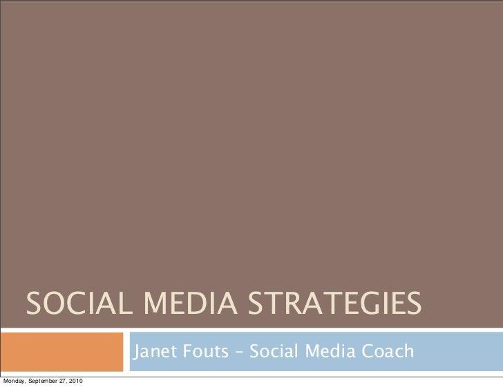 PRPD 2010 Social Media Strategy (PDF)