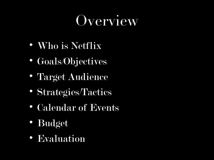 evaluation of netflix inc Netflix 2 executive summary netflix inc, founded in 1997 is the world's  leading  the internal factor evaluation (ife) tool will be analyzed to evaluate  netflix's.