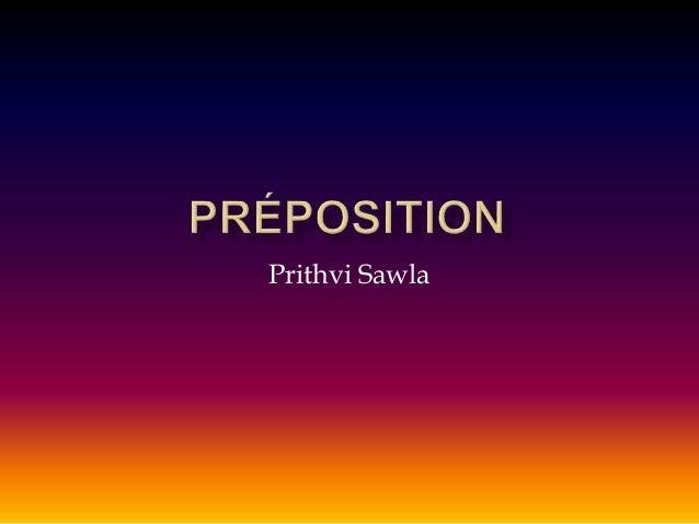 Prithvi Sawla