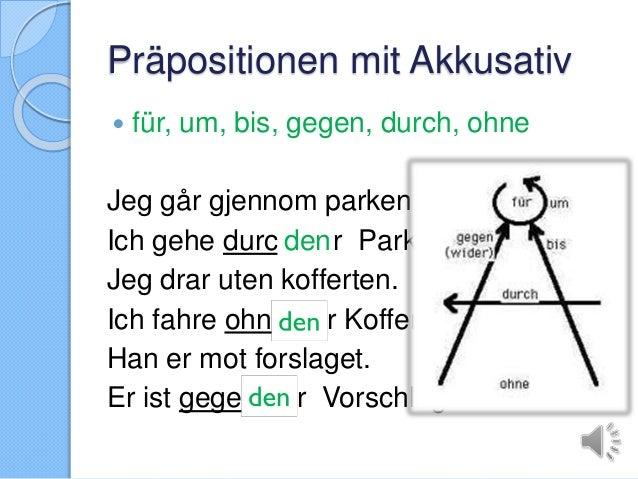 Pr positionen und kasus film til pre mooc for Prapositionen mit akkusativ
