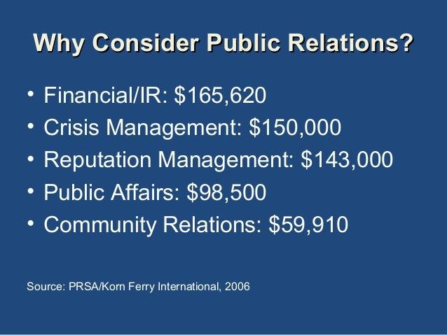 Defining public relations paper