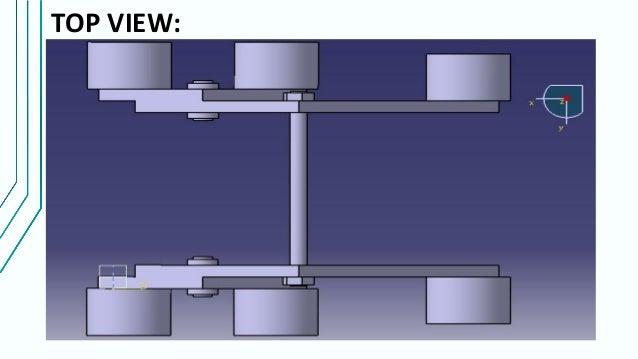 Rocker bogie mechanism (design and fabrication)