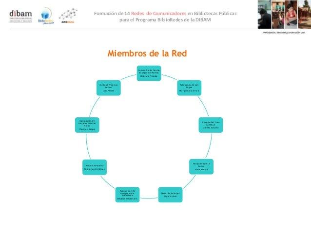 Formación de 14 Redes de Comunicadores en Bibliotecas Públicas                        para el Programa BiblioRedes de la D...