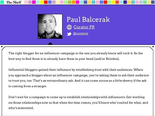 Malania Dela Cruz Dela Cruz PR @delacruzpr We take a few things into consideration when looking for a blogger to work with...