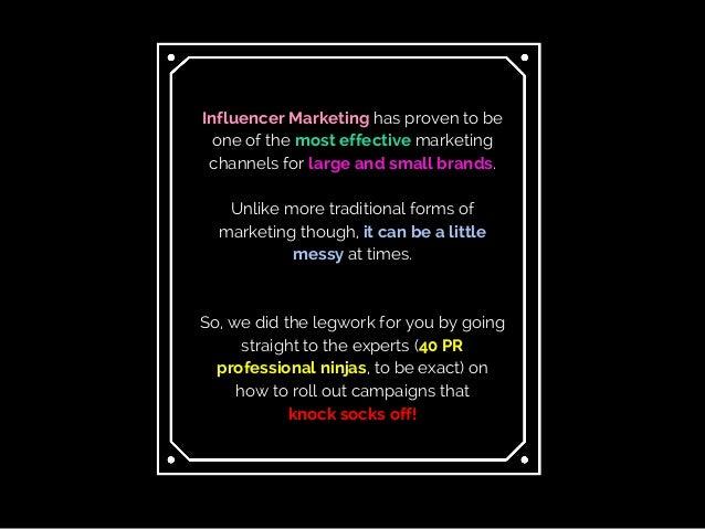 40 Top PR Pros Share Their Secrets For Effective Influencer Marketing Slide 2