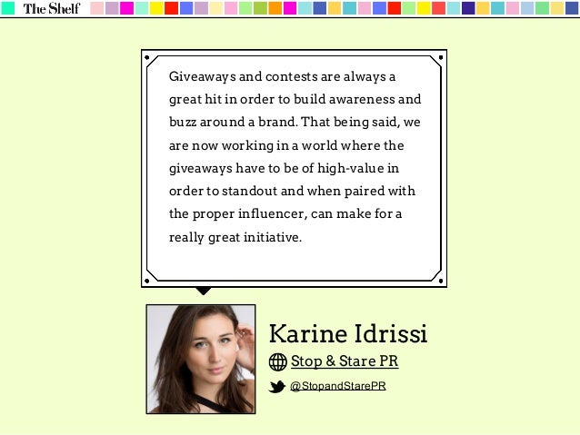 Erika Kauffman 5W Public Relations @5W_PR When working with influencers, we're very careful to create tailored opportuniti...