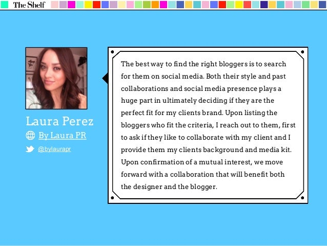 Chevy Donato Now + Zen Public Relations @chevydonato + @NowZenPR There are a few ways to find the right bloggers for influ...