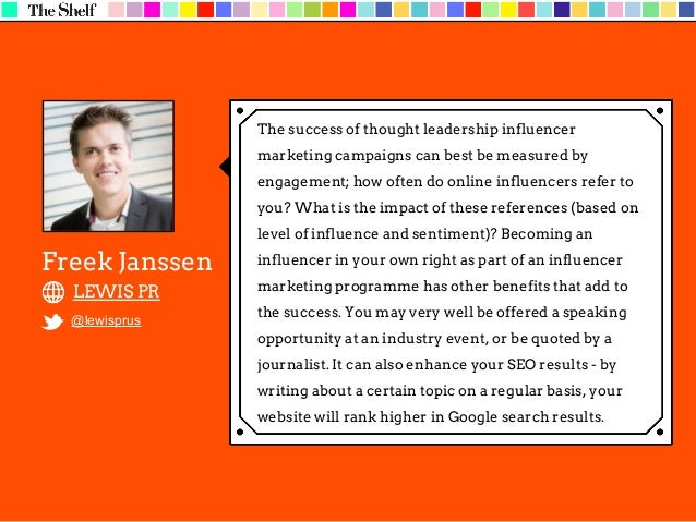 Marketers need to first consider two different sets of metrics – influencer and influencer referrals. On the influencer si...