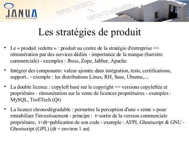 Les stratégies de produit         Le « produit vedette » : produit au centre de la stratégie d'entreprise => rémunérat...