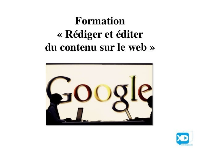 Formation  « Rédiger et éditerdu contenu sur le web »