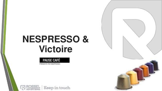 NESPRESSO & Victoire