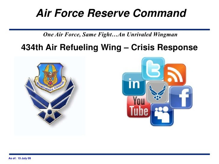 434th Air Refueling Wing – Crisis Response<br />