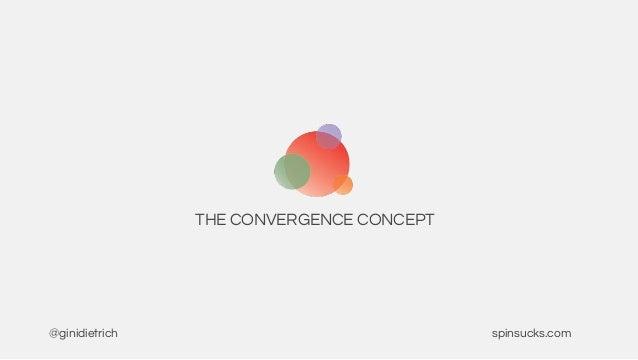 THE CONVERGENCE CONCEPT @ginidietrich spinsucks.com