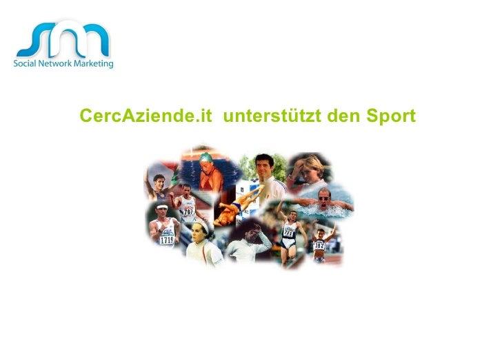 CercAziende.it  unterstützt den Sport