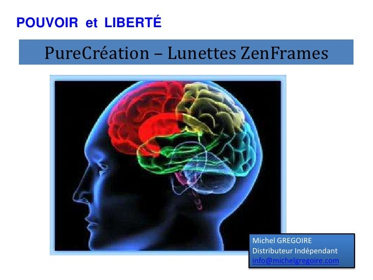 Lunettes ZenFrames  MP3 PureCreation