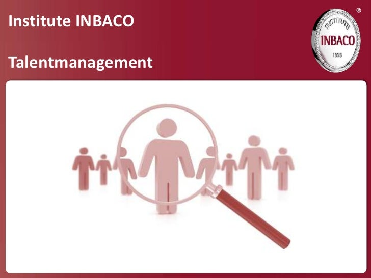 ®Institute INBACOTalentmanagement