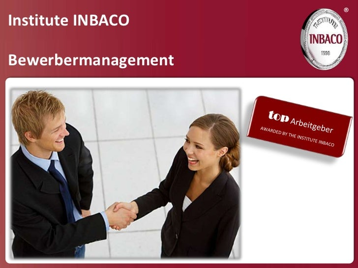 ®Institute INBACOBewerbermanagement