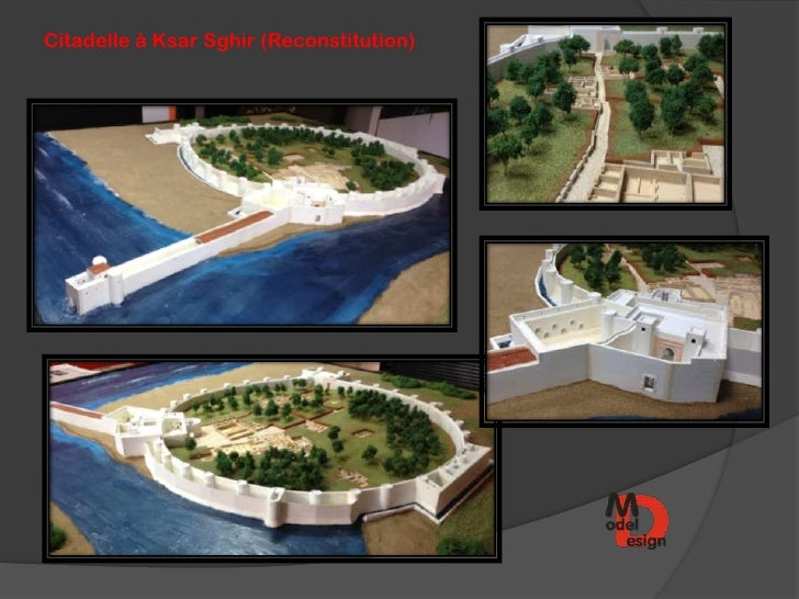 Citadelle à Ksar Sghir (Reconstitution)