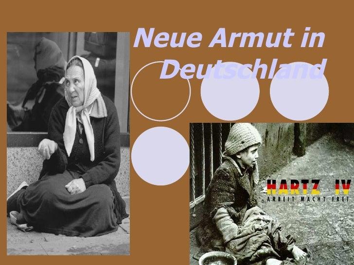 Neue Armut in Deutschland