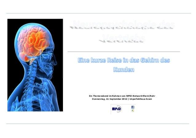 Ein Themenabend im Rahmen von MPiD-Network Rhein|Ruhr   Donnerstag, 13. September 2012 | Unperfekthaus Essen