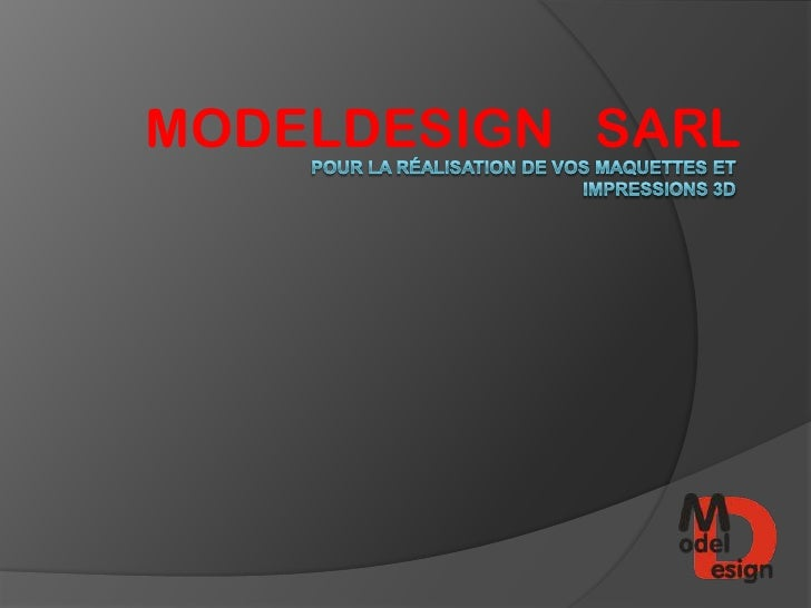 MODELDESIGN SARL