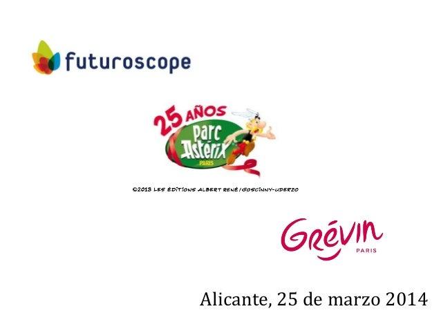 1 Alicante, 25 de marzo 2014