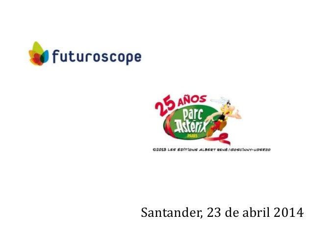1 Santander, 23 de abril 2014